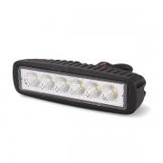 Munkalámpa 6 LED-es hosszú (160x46mm) terítő fény