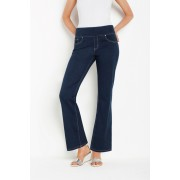 Womens Capture SuperStretch Pull On Support Jeans - Rinsewash Trousers