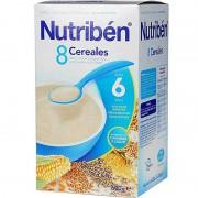 Nutriben Cereales Papilla 8 Cereales 600 g