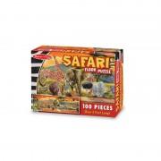 Puzzle de podea Safari 100 piese