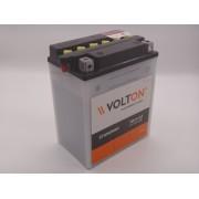 Baterie Volton 12V 14Ah 190A moto, scuter, atv cod YB14-A2 standard borna inversa