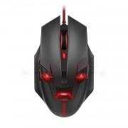 TeckNet M268 Raptor Gaming Mouse, 2000 DPI - геймърска мишка (за Mac и PC) (черен-червен)