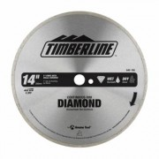 Timberline 640-180 Continuous Rim Diamond 14 Dia x 1 Inch Bore, Circular Diamond Saw Blade