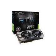 Placa De Video Nvidia Geforce Gtx 1070 Ftw Gaming 8gb Gddr5 256 Bits Acx 3.0 & Rgb Led 08g-p4-6276-k