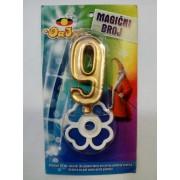 Rođendanska svećica magična