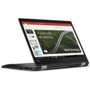 Лаптоп Ultrabook Lenovo ThinkPad L13 Yoga, Intel Core i5-10210U, 8GB DDR4, 256GB SSD, 13.3 инча FHD IPS, Черен, 20R50007BM/3