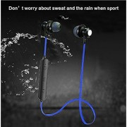 Sports Series Metal Bluetooth Magnetic Head EZ336-BLUE