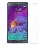 Protectora de cristal templado Membrana protector de pantalla para Samsung Nota 4 - Transparente