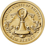 1 dolar 2018 - American Innovation - New Jersey $1 Coin (D)