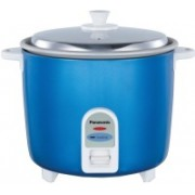 Panasonic SR-WA18(GE9)PMBL Electric Rice Cooker(0.6 L, Blue)