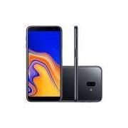 Smartphone Samsung Galaxy J6+ SM-J610G, Android 8.1 32GB Quad Core Câmera 13MP+5MP Tela 6.0, Preto