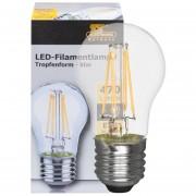 LED filament lamp 4W 470 lumen E27 2700K