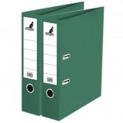 Kangaro 2x Ringmappen/ordners groen A4 75 mm