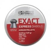 Śrut Diabolo JSB EXACT EXPRESS nadkalibrowy 4,52 mm