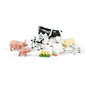 Learning Resources Jumbo Farm Animals: Mommas and Babies Toy Set (8 Piece)