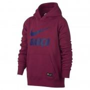 Nike Huvtröja FC Barcelona för ungdom - Röd