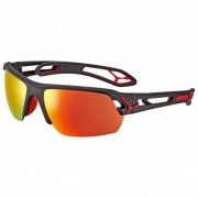 Cébé S`Track M S3 (VLT: 14%) + S0 (VLT: 92%) Occhiali da sole rosso/nero/arancione