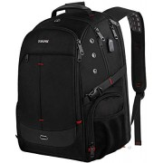 Business Laptop Backpack,TSA Friendly Large Travel Backpacks with Laptop Compartment, Water Resistant College School Bookbag for Women Men, Outdoor La