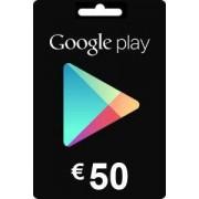 Google Play Gift Card 50 EURO
