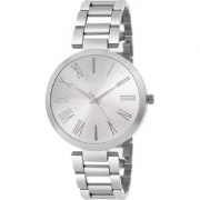 HRV Silver dial stainless steel professional watch for women Watch - For Girls