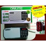 EXCELLENT FM RADIO OnliteLss48FM Radio with USB TF