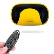 Baofeng Mojing realidad virtual VR gafas 3D Controller + BT - Amarillo