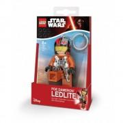 LEGO Star Wars, Breloc cu lanterna - Poe Dameron