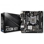ASRock H310M-HDV scheda madre LGA 1151 (Presa H4) Micro ATX Intel® H310