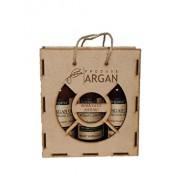 Set cadou Azbane, Argana (Sampon de par cu ulei de argan, 400 ml + Balsam de par, 400 ml + Gel de dus, 400 ml)