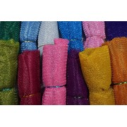 Decorative net for Bouquet, Room Decoration, Gift Wrapping, Party Hall Decor ( Width 75 cm, Length 9+ 9 m) (Pink and Blue)