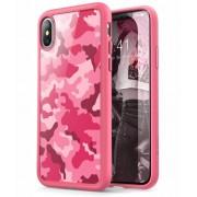 I-Blason iPhone X Bumper Case Roze Camouflage