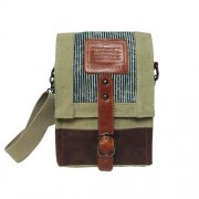 LICENCE 71195 Jumper Canvas Shoulder Bag Beige LBF10761-BE