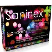 Saninex chocolate preservativos aromáticos 144 uds