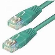 Kabel mrežni Roline UTP Cat.6, 0.5m, zeleni