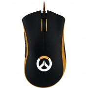 Mouse gaming Razer DeathAdder Chroma Overwatch Edition, 10000 dpi, Negru/Portocaliu
