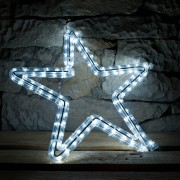 decoLED Gwiazda LED Easy Fix, zimna biel