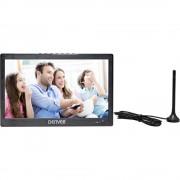 """Denver LED-1031 Prijenosni TV 25.6 cm 10 """" ATT.CALC.EEK: A (A++ - E) Rad na baterije Crna"""