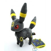 Pokemon Eevee Evolution Umbreon Anime Animals Plush Plushies Stuffed Doll Toy 8""