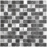 Dunin Metallic mozaika metalowa 30x30 allumi grey mix 23 __DARMOWA DOSTAWA OD 1600zł__