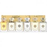 Amouage Miniatures Bottles Collection Men lote de regalo II. Gold, Dia, Ciel, Reflection, Jubilation 25, Beloved eau de parfum 6 x 7,5 ml