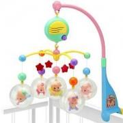Бебешка музикална въртележка за кошара, 503117414