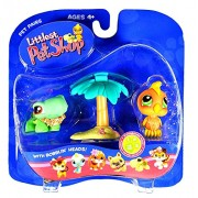 Littlest Pet Shop Pet Pairs: Turtle & Toucan
