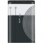 ER 1020mAh BL-5C Batería De Teléfono Móvil De Nokia De 3.7V 3.8Wh Sustitución Black & White-Blanco Y Negro