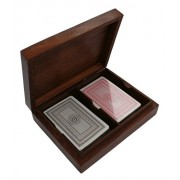 Purity Double Playing Card Box, Including Two Packs of Cards