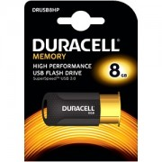 Duracell 8GB USB 3.1 Flash Memory Drive (DRUSB8HP)