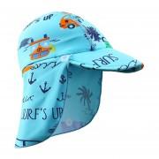 Nuevo patrón de tiburón marino gorra de natación protección solar para ss a prueba de agua para ss deportivos al aire libre Sombrero LANG(#Car)(#2-4years)