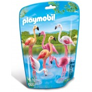 PLAYMOBIL - FAMILIE DE FLAMINGO (PM6651)