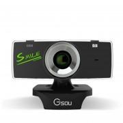 Webcam Cámara Web HD USB2.0 web cam con micrófono para Ordenador PC /