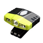 ZANLURE 450LM LED Sensor Light Clip-On Lamp USB Rechargeable Head Light Angle Adjust Night Fishing Lamp