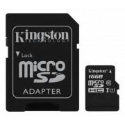 . 16GB, Kingston microSDHC Class 10 inkl SDHC adapter